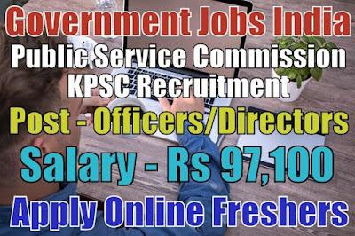 KPSC Recruitment 2019