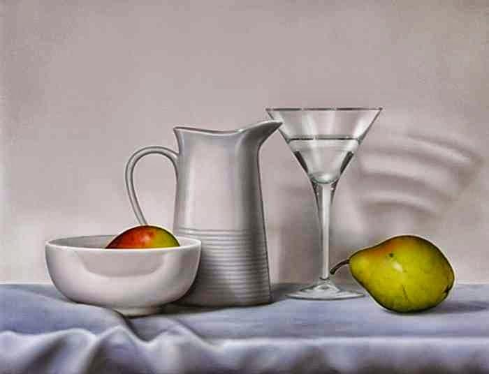 Гиперреалистичные картины. Paco Yuste