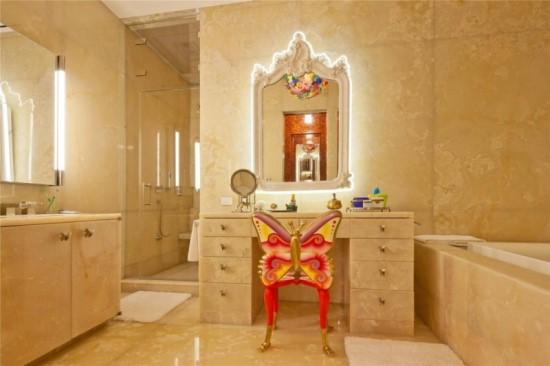Fairy-Styled-Luxurious-Bathroom-Makeup-Vanity-Set 20 Unbelievable Make-up Self-importance Desk Concepts Interior