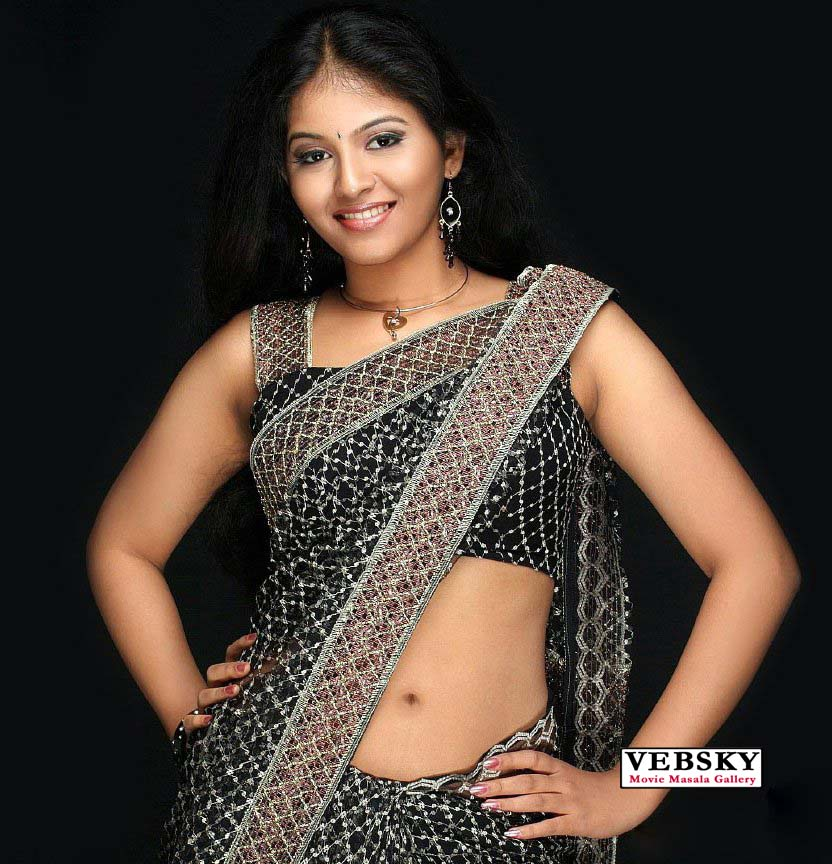 Anjali Sexy Hot Navel Hip Images  South Wood Gallery-4899