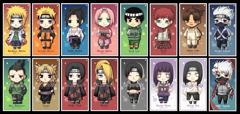 Gambar Naruto Wallpaper Chibi Naruto And Friends