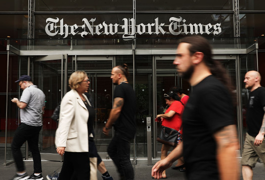 New York Times scrambles to defuse a full-blown staff rebellion