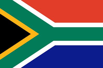 Nueva bandera de Sudafrica