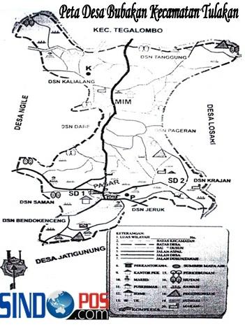 Profil Desa & Kelurahan, Desa Bubakan Kecamatan Tulakan Kabupaten Pacitan