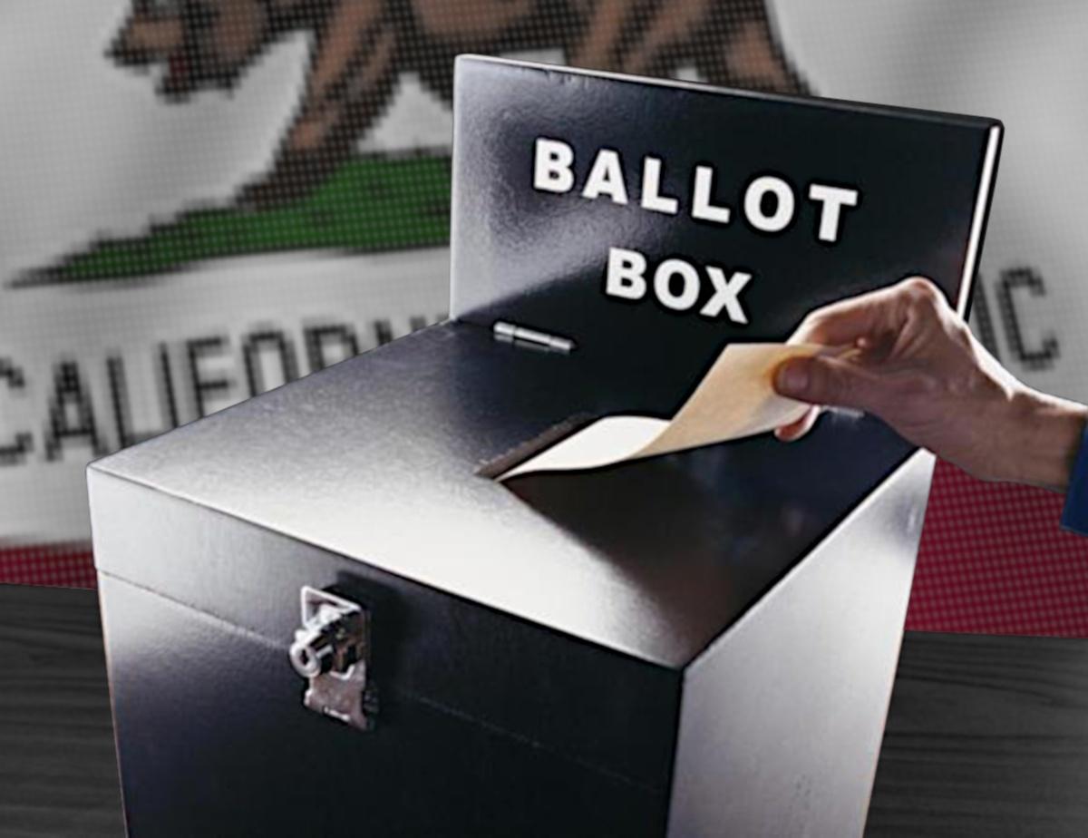 California Black Voting Box