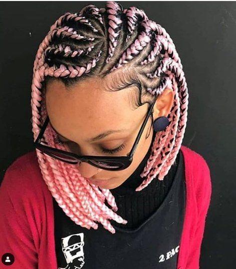 unique cornrow hairstyles