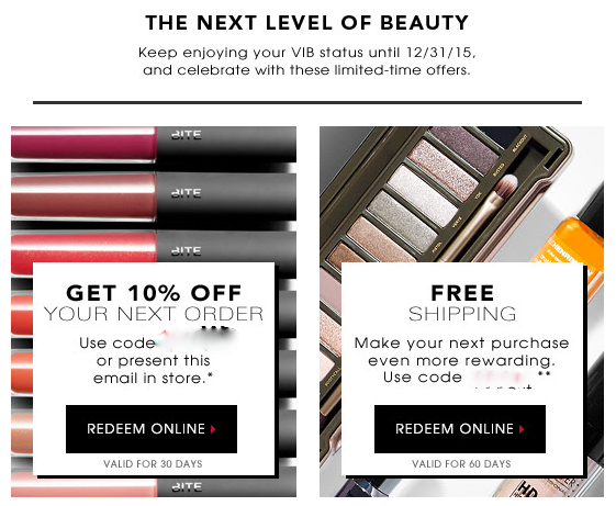 There are 47 Sephora coupons that include promo codes and free shipping deals for December for you to choose from. Shop Sephora as one of the most trusted brands in beauty and cosmetics.