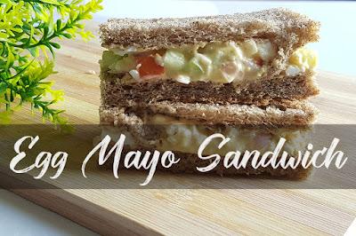 How do you make egg mayo sandwich?