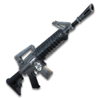 fortnite assault rifle m16