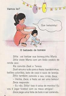 Leitura O batizado da boneca