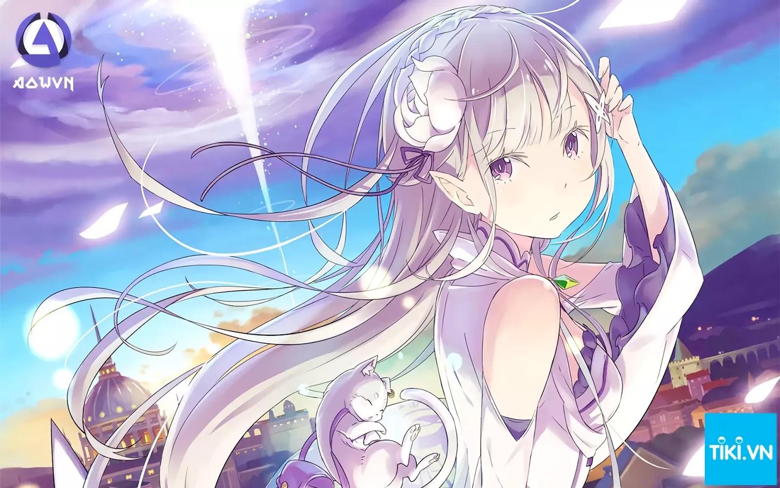 AowVN Tiki%2B%25281%2529 - [ Light Novel ] Re: Zero | 76.000đ - Bắt Đầu Lại Ở Thế Giới Khác + Quà Tặng Bookmark