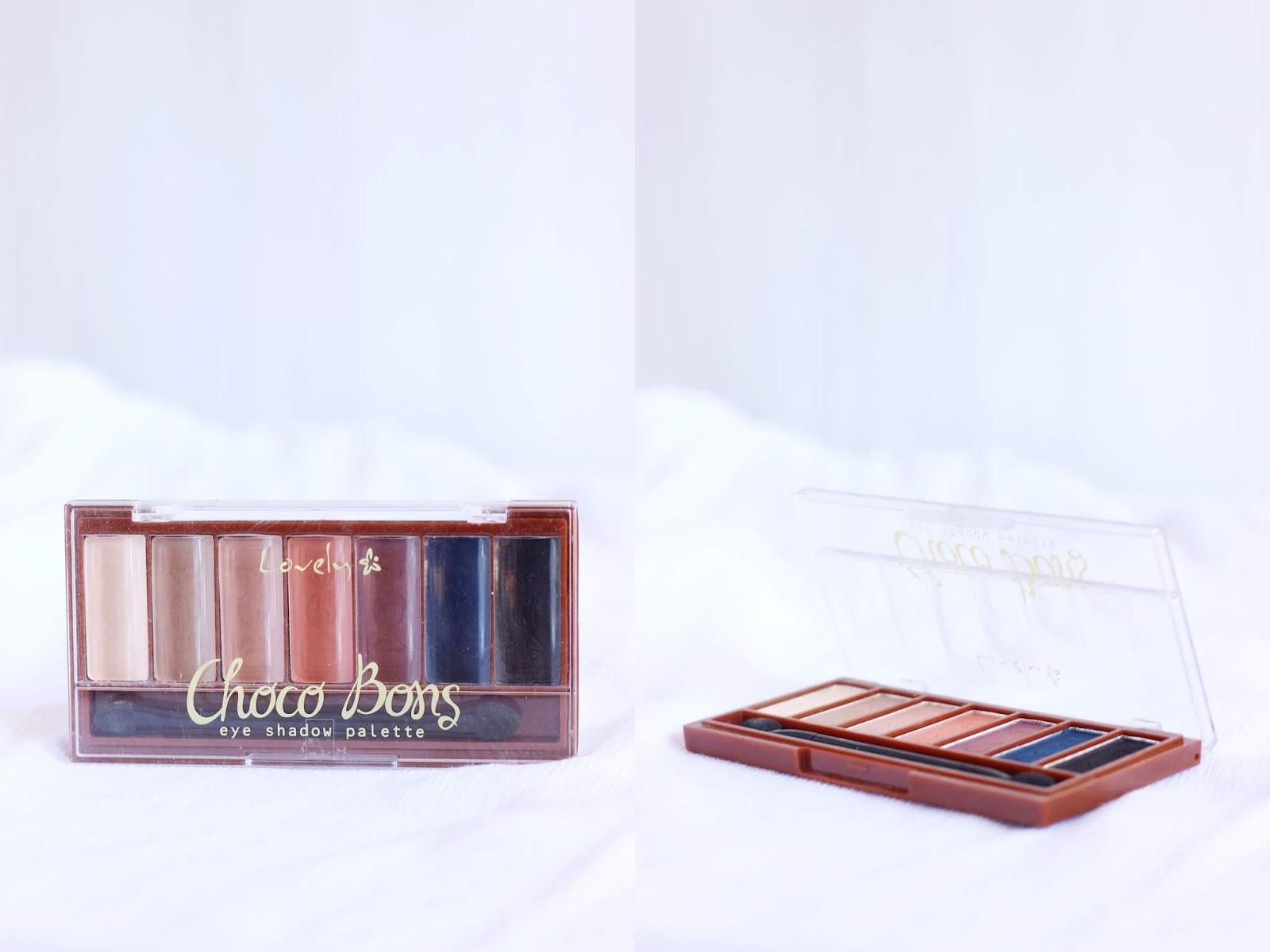 paleta rossmann lovely nude chocobons