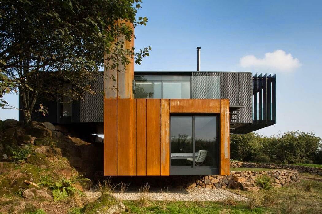 Casa rural de dise o patrick bradley architects - Diseno casas rurales ...
