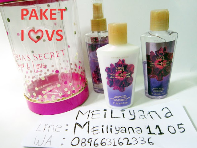 promo victoria secret love spell