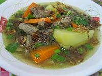Resep Masakan Indonesia Praktis Sayur Sop Daging Gurih