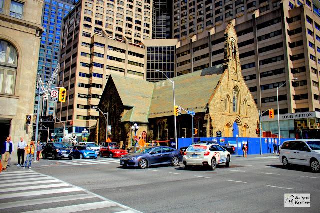 Stary kościół w Toronto