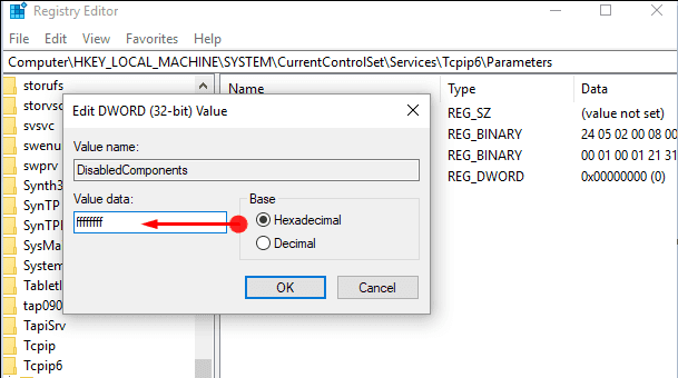 Ways to Turn On/Turn Off IPv6 in Windows 10