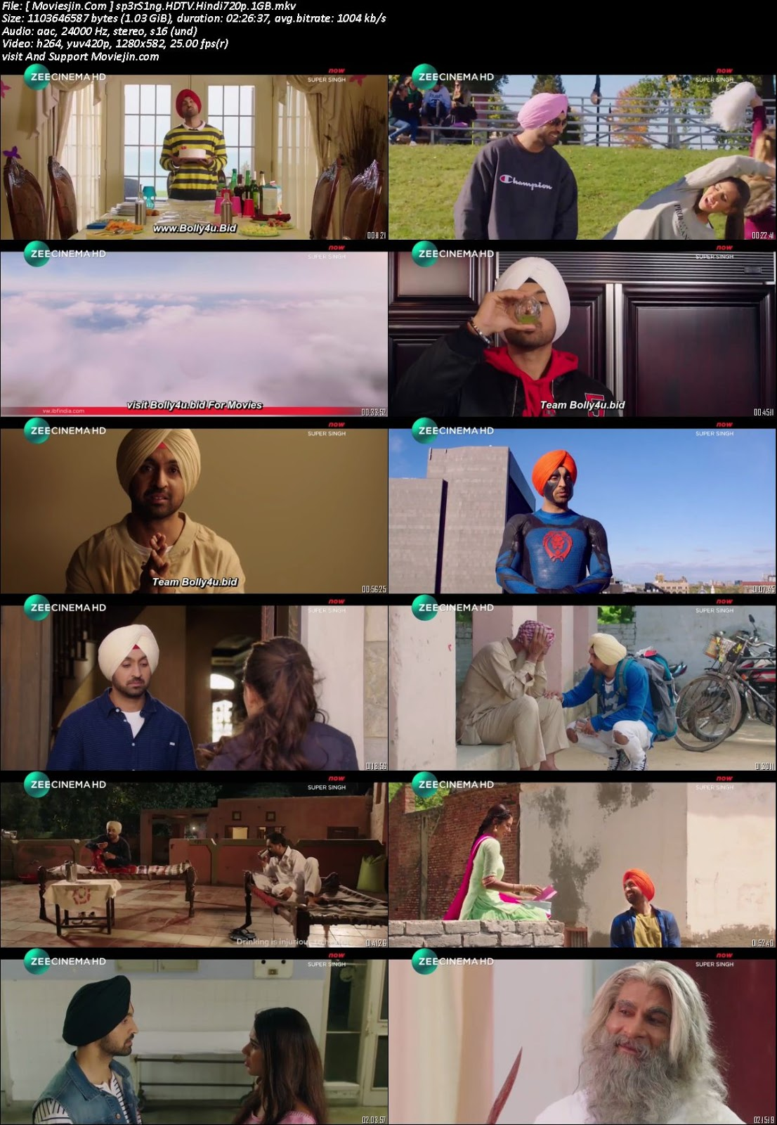 Watch Online Super Singh 2018 Full Movie HDTV Download 720p Full Movie Download Khatrimaza, free download 9xmovies,