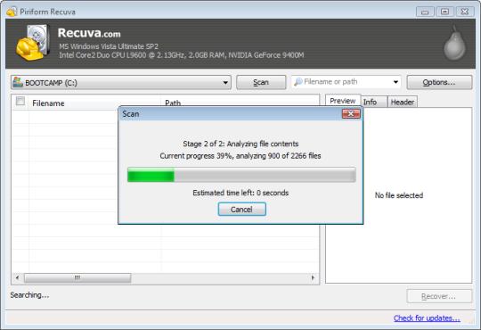 Recuva Terbaru (Software Memulihkan Data Rusak & Terhapus)
