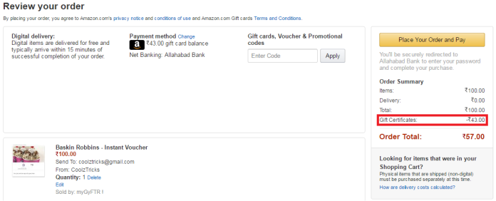 New Trick*} Convert Your Amazon Gift Card Balance To Gift Voucher