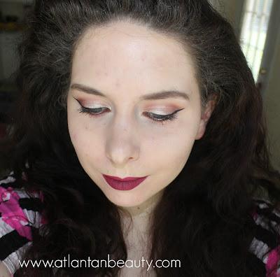 FOTD Using ABH Liquid Lipstick in Craft
