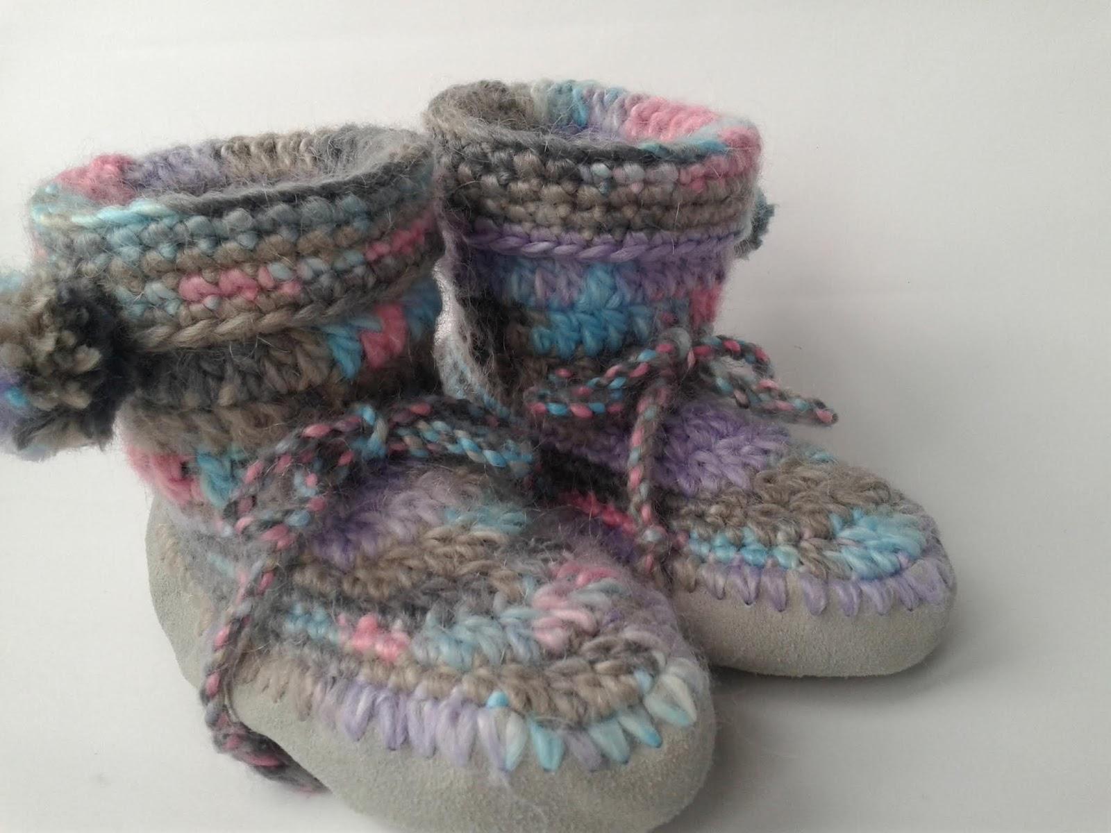 Le Fragole di Stoffa  Come fare scarpe all uncinetto con suola Prym ... 11e5dc7b0b94