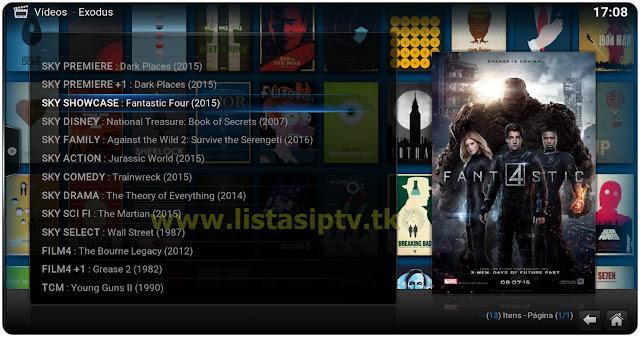 Add-On - Exodus - KODI - Assista filmes e séries em excelente qualidade