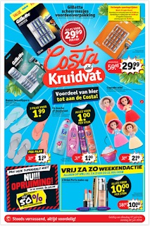 Kruidvat Folder Week 29, 16 – 22 Juli 2018