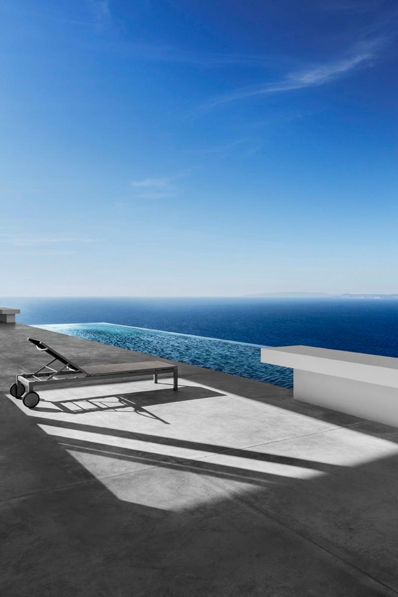 Simplicity Love Silver House Greece Dwek Architectes