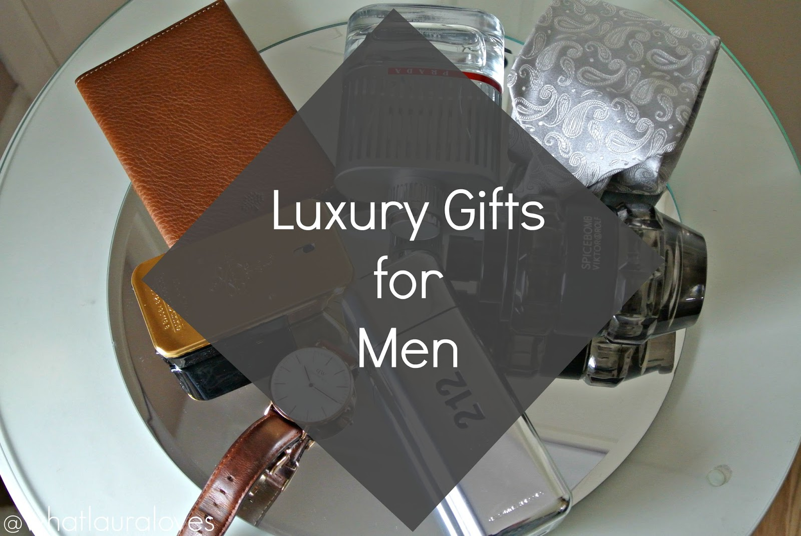 Top 5 Luxury Gift Ideas For Men