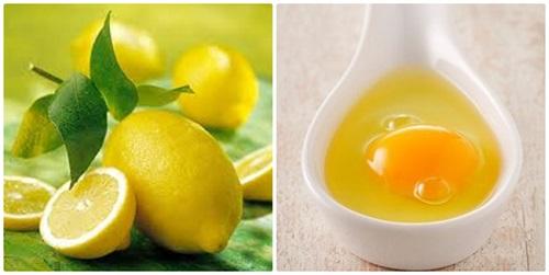 Cách tẩy tế bào chếtda mặt  hiệu quả bằng chanh và lòng trắng trứng gà