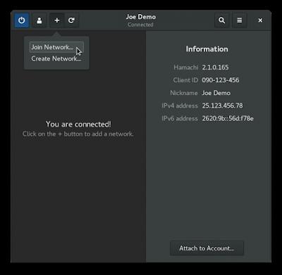 Como instalar o Haguichi um front para o Hamachi no Ubuntu, Debian, Fedora e openSUE!