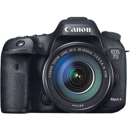 Câmera Canon Dslr Eos 7d Mark Ii Com Lente 18-135mm