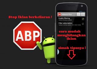 Cara Menghilangkan Iklan pada Android