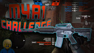 M4A1 bullet force weapon review
