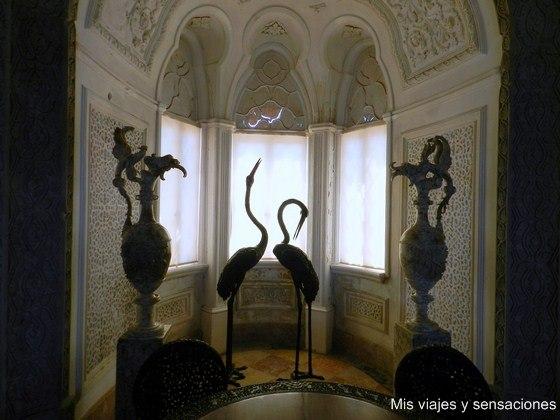 Salón Indiano, Palacio da Pena, Sintra, Portugal