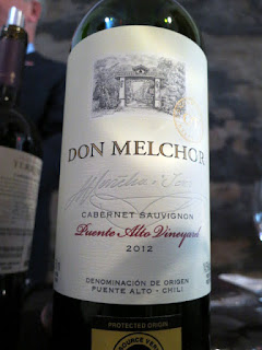 Concha Y Toro Don Melchor Cabernet Sauvignon 2012 - Puente Alto, Maipo Valley, Chile (92 pts)