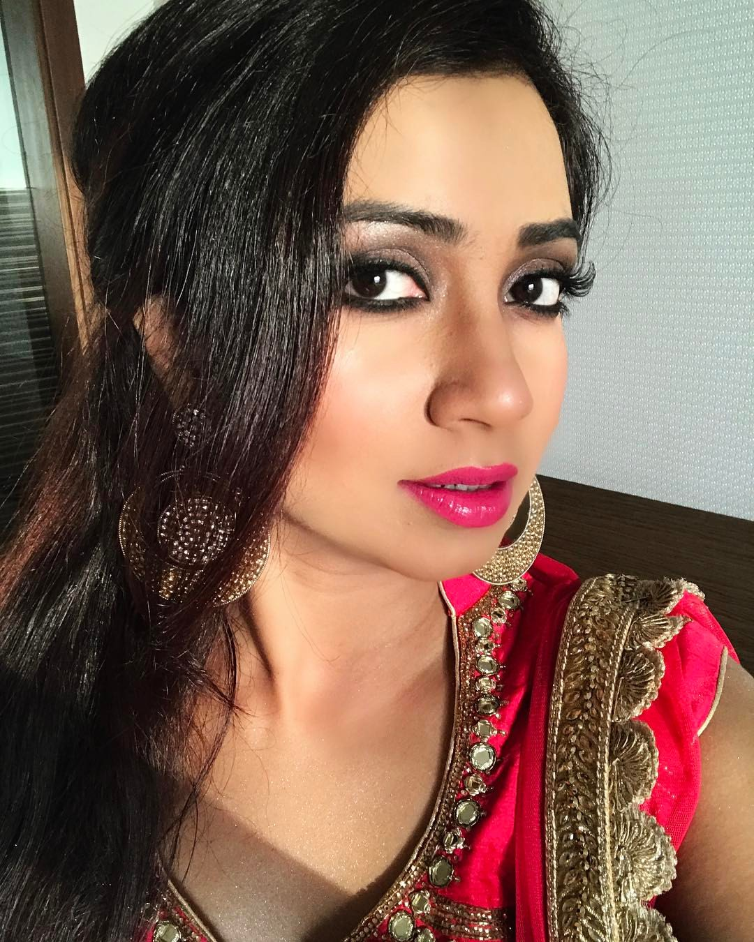 Shreya Ghoshal Has Cute Face With Pretty Voice  New Actress-4365
