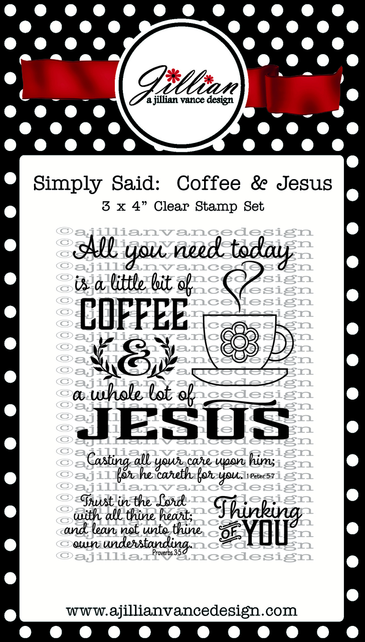 simply said:  coffee & jesus