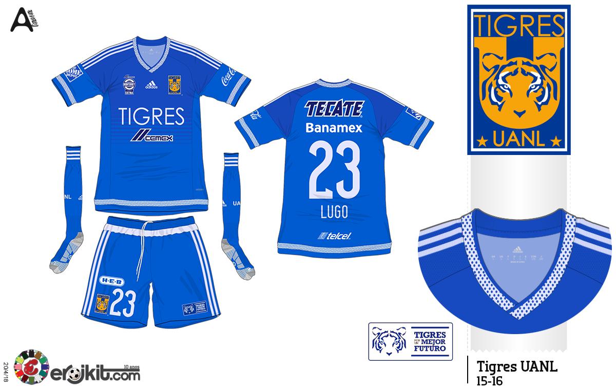 Camisa do Tigres UANL 7842e0dbf69da