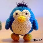 patron gratis pingüino amigurumi, free pattern amigurumi penguin