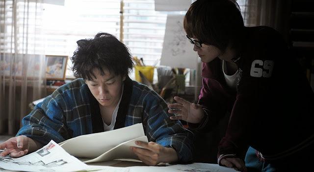 Pierwsze zdjęcie z filmu aktorskiego Bakuman