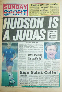 Back page of the Sunday Sport from 14 Dec 1986