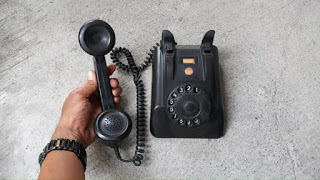 Dijual Telephone Lawas putar phillips holands