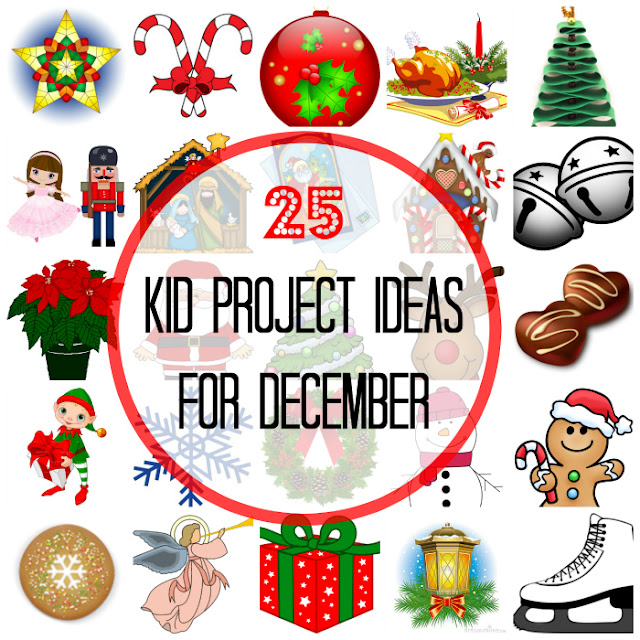 An Advent activity calendar - 25 Amazing Activity Ideas for Kids to Do in December