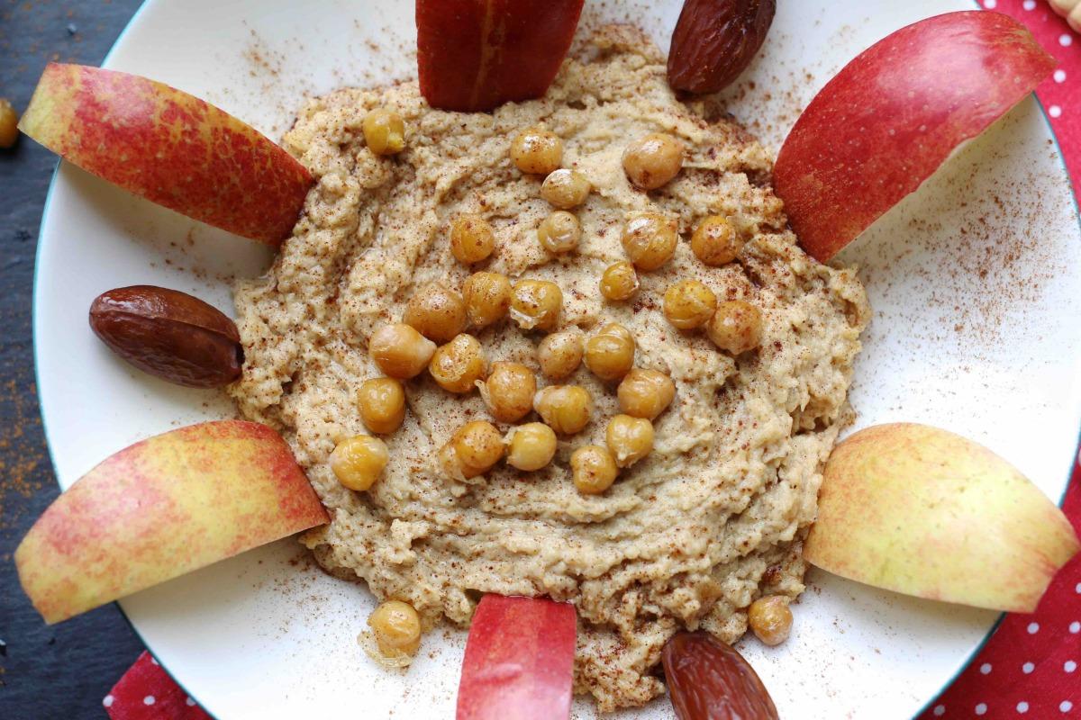 Rezept für süßen Hummus