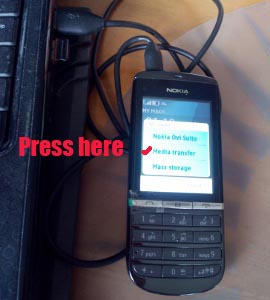 how to transfer MP3 music from computer to Nokia 300 phone