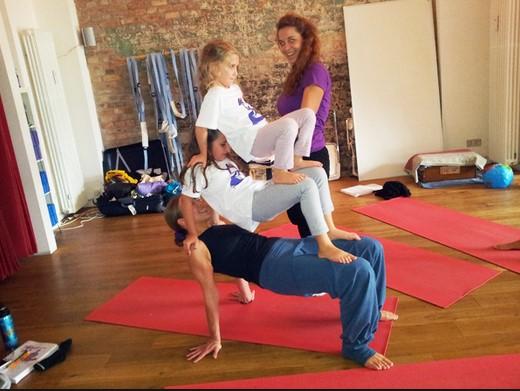 Easy 3 Person Yoga Poses Abc News