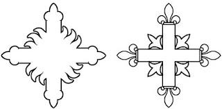 Heraldie La Croix En Heraldique