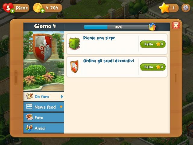 Gardenscapes guida italiana alla app missioni giardino
